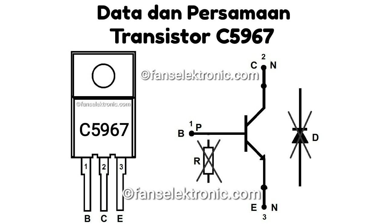 Persamaan Transistor C5967