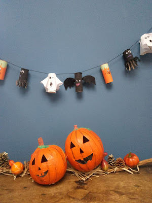 Fabriquer une guirlande pour halloween