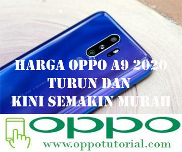 Harga OPPO A9 2020 Turun dan Kini Semakin Murah