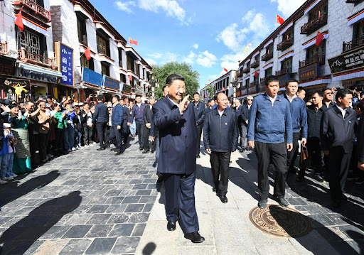 Xi in Central and Southern Tibet