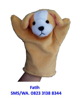 Mainan Boneka Tangan Anjing