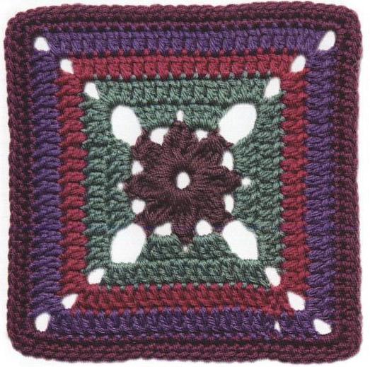Patrón #1225: Carpeta Begonia a Crochet.