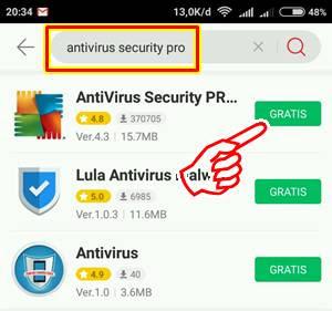 download antivirus Hadiah Spin Google Android