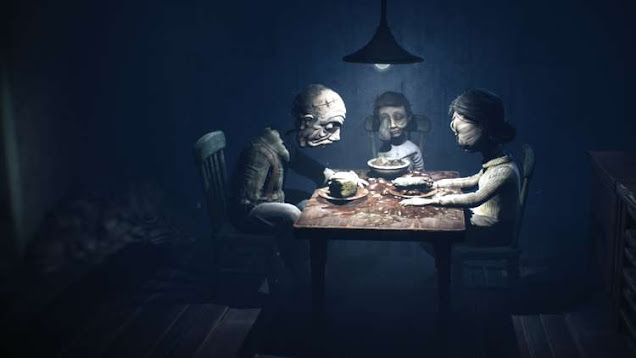 Little Nightmares 2 video game characters