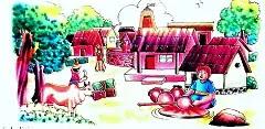 Hindi kahaniya and village life