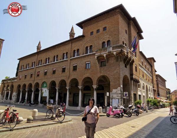 Rávena - Biblioteca Oriani