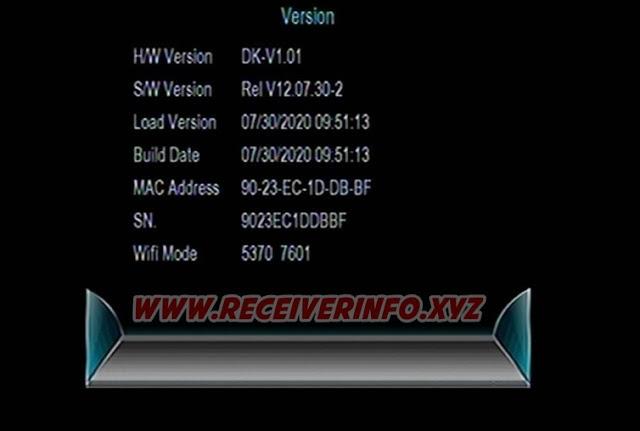 HYPER X7 1507G 1G 8M SATELLITE DISH HD RECEIVER NEW SOFTWARE UPDATE