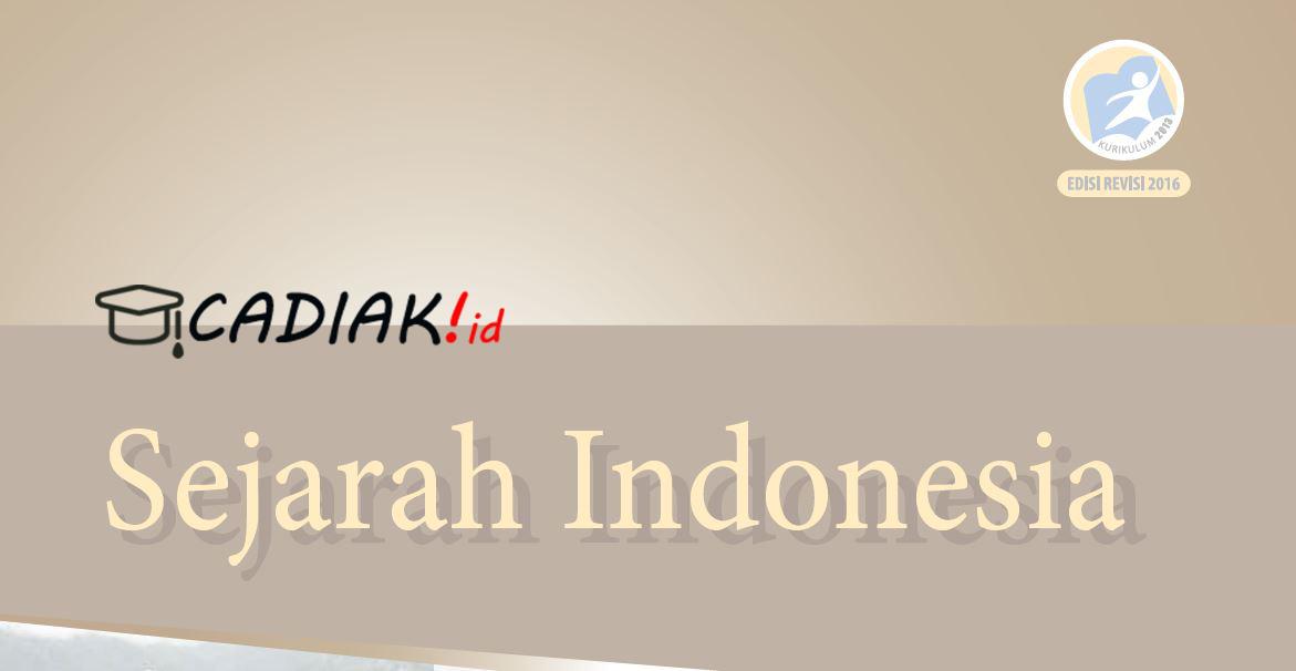 Buku Paket Sejarah Indonesia Kelas 10 SMA Kurikulum 2013 Revisi 2016 PDF