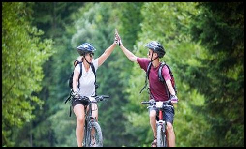 Health benefits of riding a bike