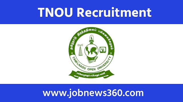 TNOU Recruitment 2020 for Software Programmer & IT Analyst