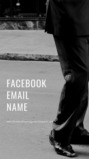 Facebook email name
