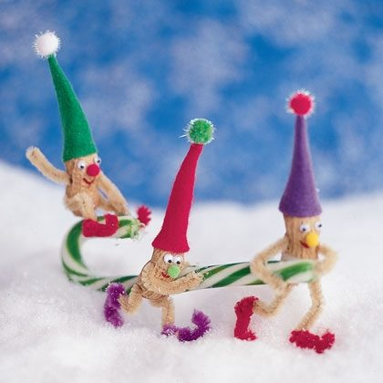 Nutty Little Elves Holiday Ornaments