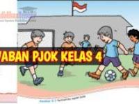 Kunci Jawaban PJOK Kelas 4 Kurikulum 2013 Materi Variasi Gerak Dasar Lokomotor, Nonlokomotor, dan Manipulatif dalam Permainan Bola Besar, Halaman 26