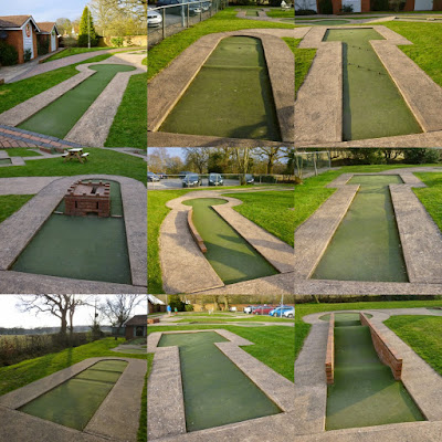 Crazy Golf at the Four Ashes Golf Centre in Dorridge, Solihull