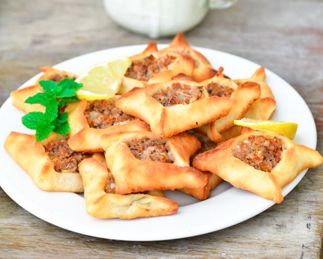 Sfeeha (Lebanese Meat Pies) | Arabic Food Recipes