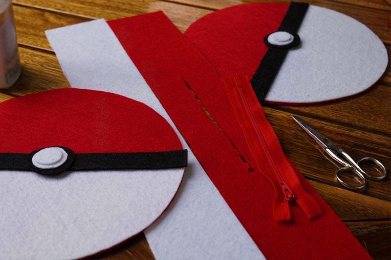 KuneCoco • DIY runde Pokémon-Tasche • Schnittmuster • #GottaBlogEmAll