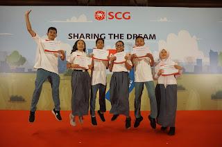 Kembangkan Ekonomi Sirkular dengan Beasiswa SCG Sharing The Dream