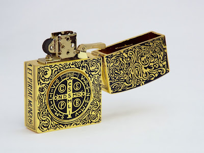 コンスタンティン ZIPPO ライター ムービーサイズ レプリカ DSCF5931