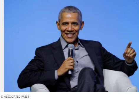 "Obama says Biden decided ""anyone"" to elect Kamal Harris as VP"