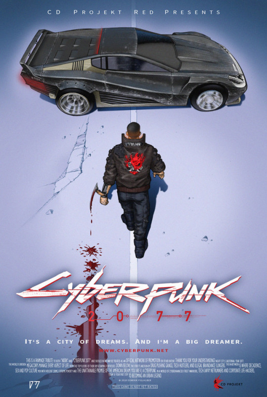Cyberpunk 2077 vs. Akira Poster Dominik Figlhuber