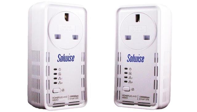 Solwise SmartLink 1200AV2 HomePlug Adapter Review