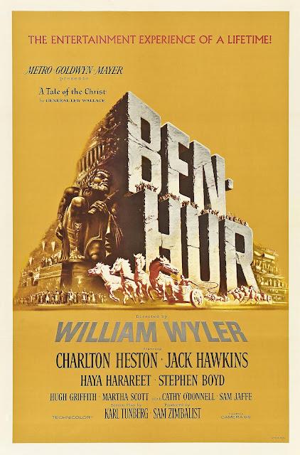 Póster película Ben-Hur - 1959