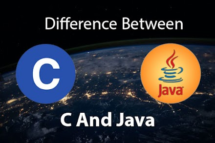 Complete Difference Between C and Java Language