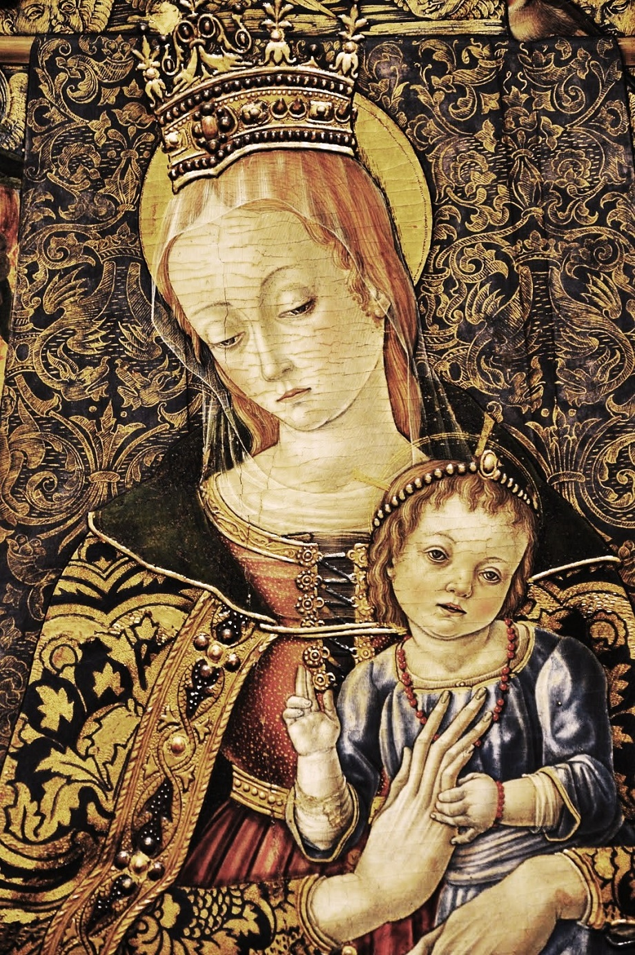 the life and art of carlo crivelli an italian painter Venetian painting in the 16th century  carlo crivelli  crivelli left venice and made his mark elsewhere on the italian peninsula as well as in dalmatia,.