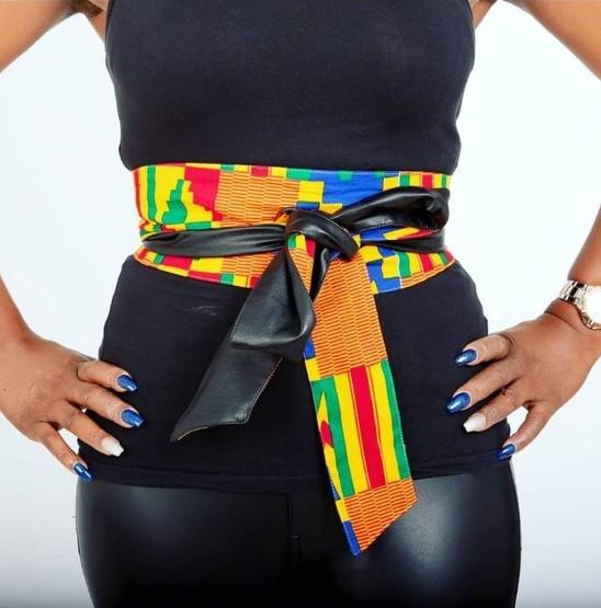 Mode, art, tendance, ceinture, cuir, massai, noeud, Kipé, accessoire, homme, femme, tissu, pagne, wax, bazin, perle, style, look, LEUKSENEGAL, Dakar, Sénégal, Afrique