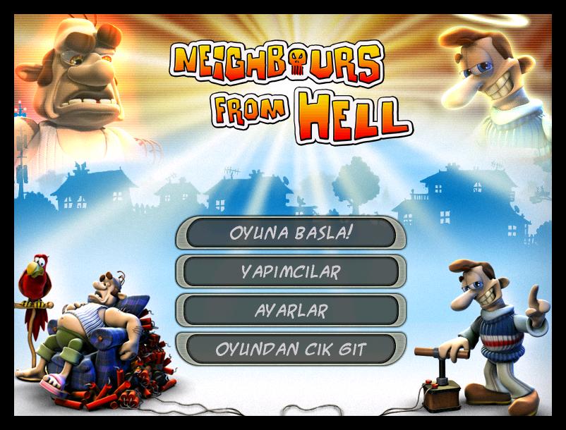 Neighbours From Hell TR  - Katılımsız Oyun