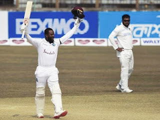 Top 10 Test Cricket Matches Of The Century west indies vs Bangladesh Kyle Mayer's 200 2021