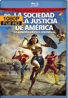 Justice Society: World War II (2021) [1080p Web-DL 60FPS] [Latino-Inglés] [LaPipiotaHD]