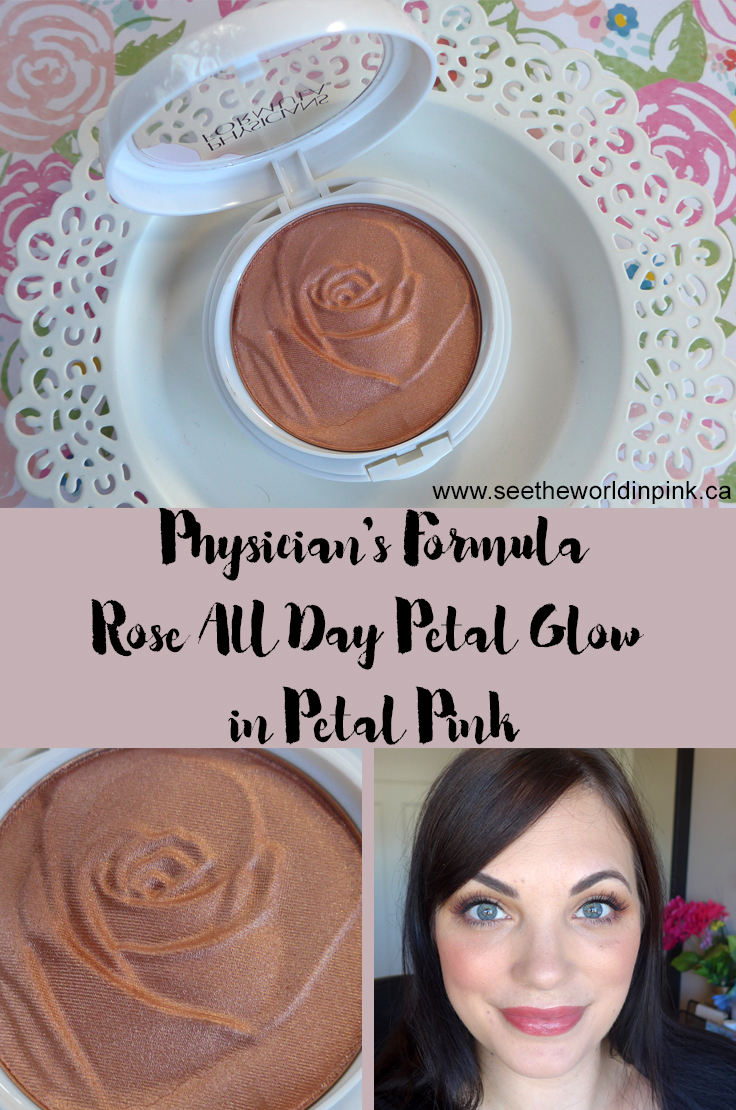 Physicians Formula Rose All Day Petal Glow in Petal Pink