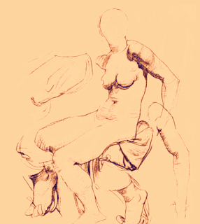 Drawing for art students WOMAN BODY