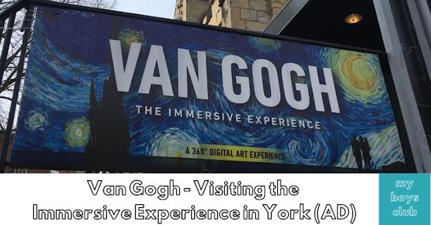 Van Gogh: The Immersive Experience in York