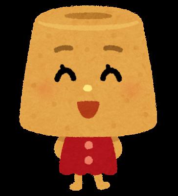 シフォンケーキのキャラクター