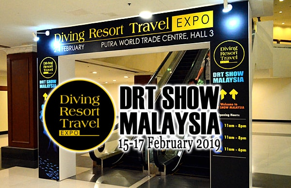 Malaysia DRT Dive Show 2019