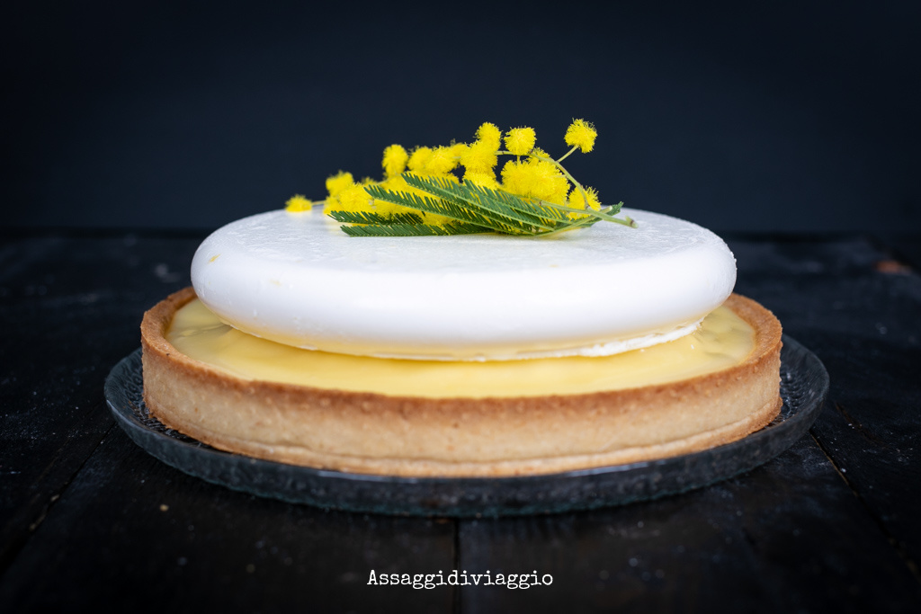 Torta mimosa moderna