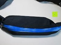 Tasche: GHB Doppelfach Sportgürteltasche Bauchtasche Handygürtel ideal für Laufen, Training, Radfahren, Wandern Schwarz