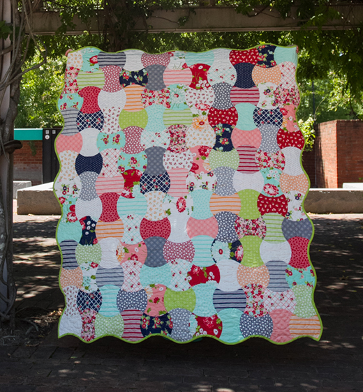 Apple of My Eye Quilt designed by Christine Weld from The Quarter Inch for Moda Bake Shop