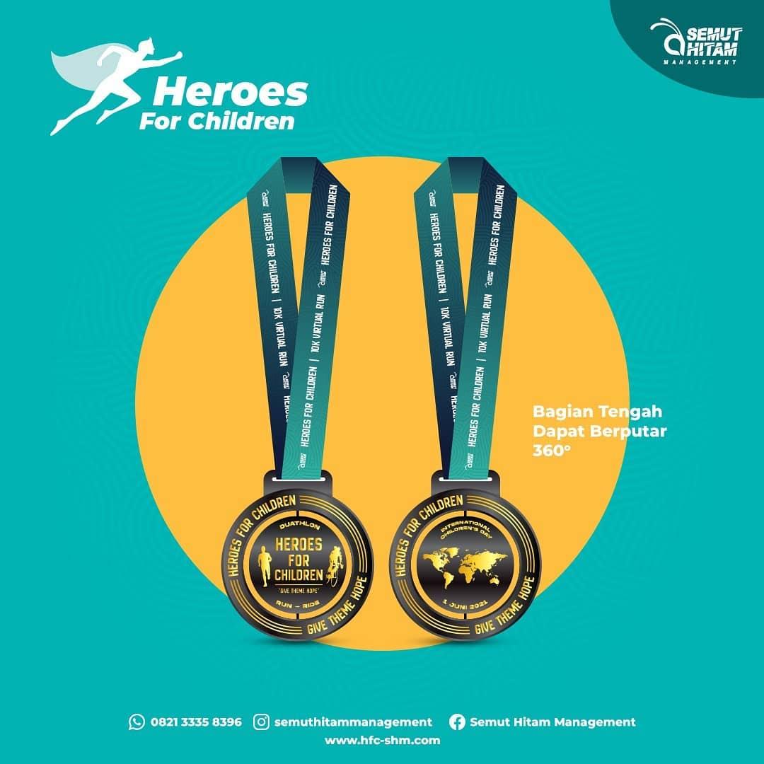 Medali � Heroes for Children • 2021