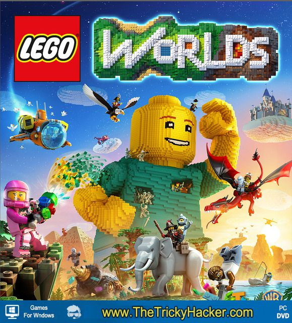 Lego Worlds Free Download Full Version Game PC