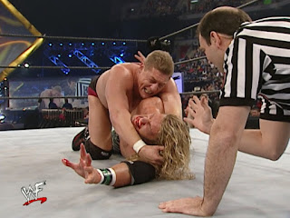 WWE / WWF No Way Out 2002 - William Regal stretches Edge