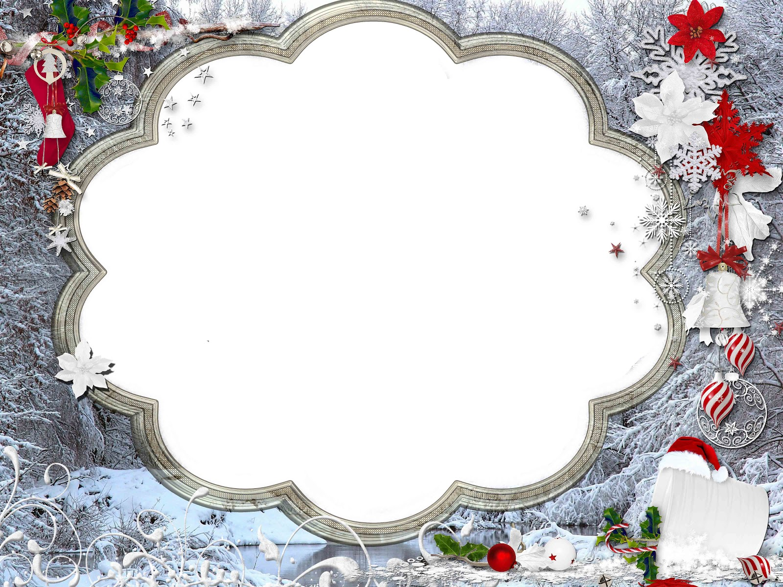 Christmas png frame | png frame