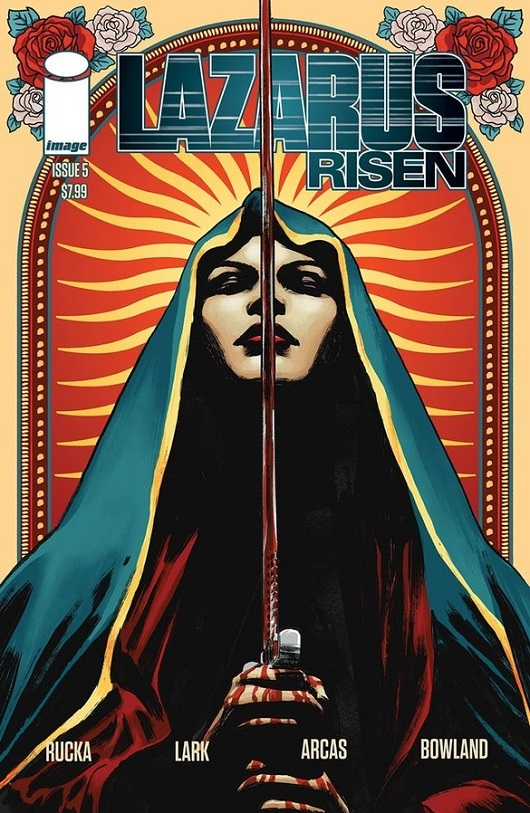 Cover of Lazarus: Risen #5