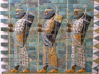 Guerreros persas. S. IV a.C. Museo de Pérgamo. Berlín