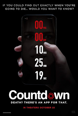 Theatrical one-sheet for COUNTDOWN (2019)!