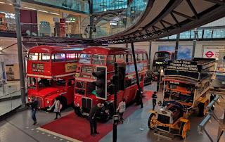Museo del Transporte de Londres.
