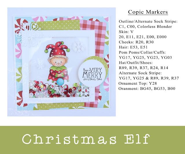 Heather's Hobbie Haven - Christmas Elf Card Kit