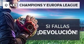 Paston promocion champions y Europa League 22-24 octubre 2019